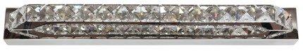 Kinkiet chromowy LED z kryształkami 6W biały zimny Lords Candellux 21-37985