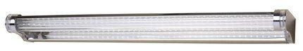 Kinkiet łazienkowy chrom lampa 58cm LED 9W zimny Moderno Candellux 20-40794