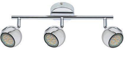 LAMPA ŚCIENNA  CANDELLUX BALT 93-60587 LISTWA     GU10 CHROM