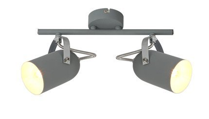 LAMPA ŚCIENNA  CANDELLUX GRAY 92-66480 LISTWA  E14 SZARY