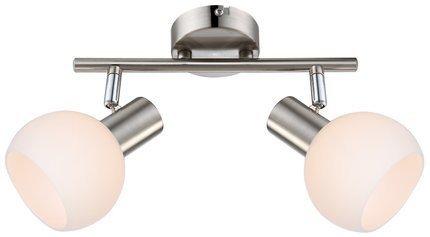 LAMPA ŚCIENNA  CANDELLUX MAURO 92-61591 LISTWA  E14 LED RGB SATYNA NIKIEL Z PILOTEM