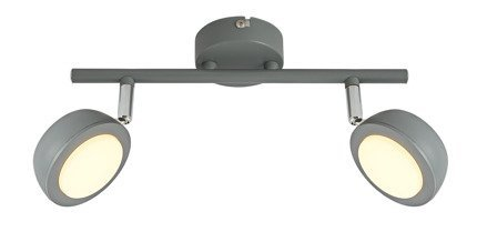 LAMPA ŚCIENNA  CANDELLUX MILD 92-66749 LISTWA  LED SZARY 3000K