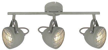 LAMPA ŚCIENNA  CANDELLUX PENT 93-68064 LISTWA  GU10 BETONOWY SZARY