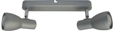 LAMPA ŚCIENNA  CANDELLUX PICARDO 92-44211 LISTWA  E14 SZARO SREBRNY