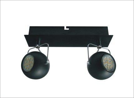 LAMPA ŚCIENNA  CANDELLUX TONY 92-25012 LISTWA  LED GU10 CZARNY MATOWY