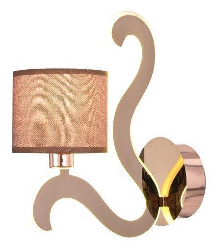 LAMPA ŚCIENNA KINKIET CANDELLUX AMBROSIA 21-33499  E14 +  LED MIEDZIANY