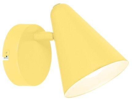 LAMPA ŚCIENNA KINKIET CANDELLUX AMOR 91-68774  E14 BANANOWY