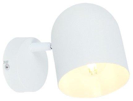 LAMPA ŚCIENNA KINKIET CANDELLUX AZURO 91-63243  E27 BIAŁY