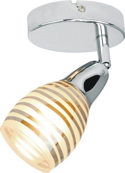 LAMPA ŚCIENNA KINKIET CANDELLUX JUBILAT 91-54050  E14 LED CHROM