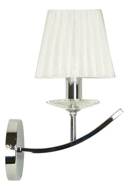 LAMPA ŚCIENNA KINKIET CANDELLUX VALENCIA 21-84418  E14 CHROM