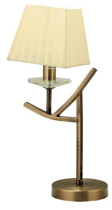 LAMPA STOŁOWA  CANDELLUX VALENCIA 41-84593 E14 PATYNA