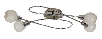 LAMPA SUFITOWA  CANDELLUX AVILA 98-10100 PLAFON  E14 SATYNA