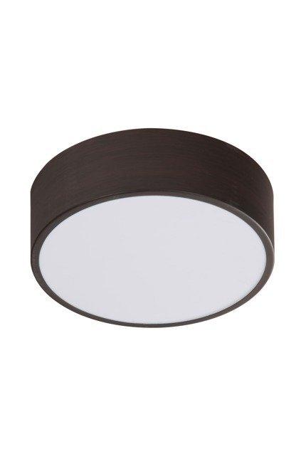 LAMPA SUFITOWA  CANDELLUX ZIGO 10-39545 PLAFON  LED 6500K  METAL WENGE