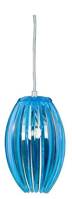 LAMPA SUFITOWA WISZĄCA CANDELLUX ABUKO 31-55296  E27 NIEBIESKI MAŁY