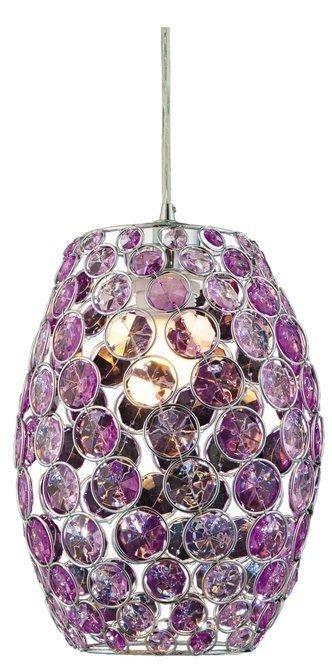 LAMPA SUFITOWA WISZĄCA CANDELLUX CORN 31-92536   E27 FIOLET