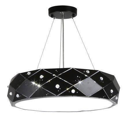 LAMPA SUFITOWA WISZĄCA CANDELLUX GLANCE 31-59192   G9   CZARNY
