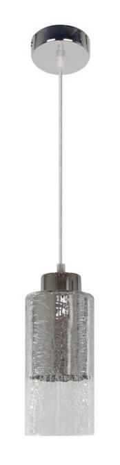 LAMPA SUFITOWA WISZĄCA CANDELLUX LIBANO 31-51646   E27 SREBRNY