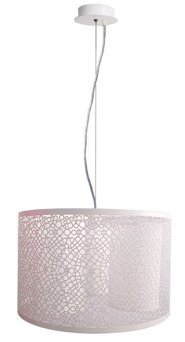 LAMPA SUFITOWA WISZĄCA CANDELLUX MADRAS 33-27290  E14 BIAŁY