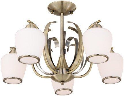 LAMPA SUFITOWA WISZĄCA CANDELLUX OPERA 35-54968  E27 PATYNA