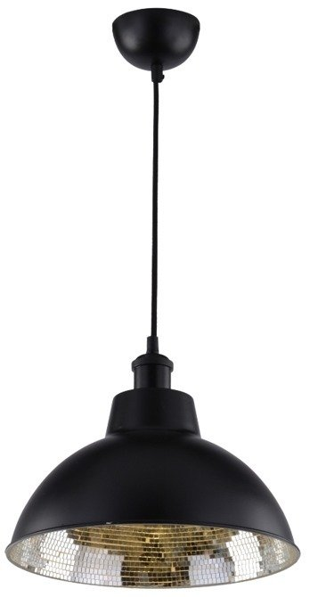 LAMPA SUFITOWA WISZĄCA CANDELLUX SCRIMI 31-56658  E27 CZARNY