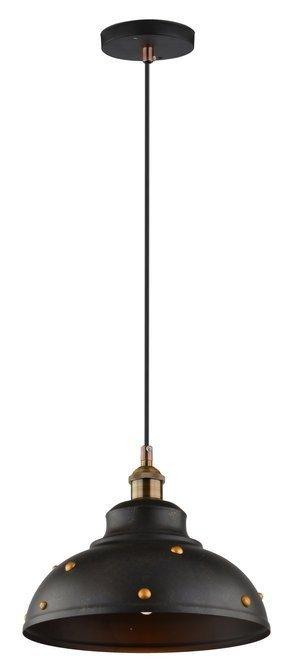 LAMPA SUFITOWA WISZĄCA CANDELLUX SCRIMI 31-57662   E27 CZARNY