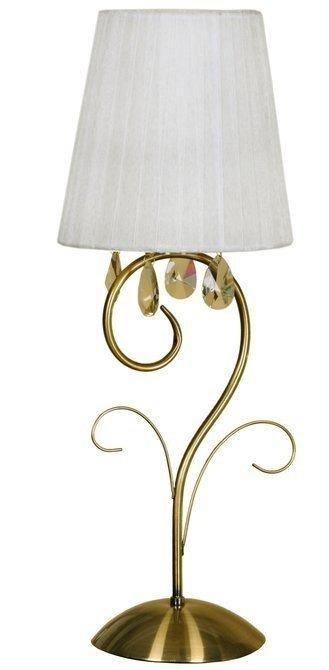 Lampa Stołowa Candellux Dynasty 41-09128 E14 Patyna