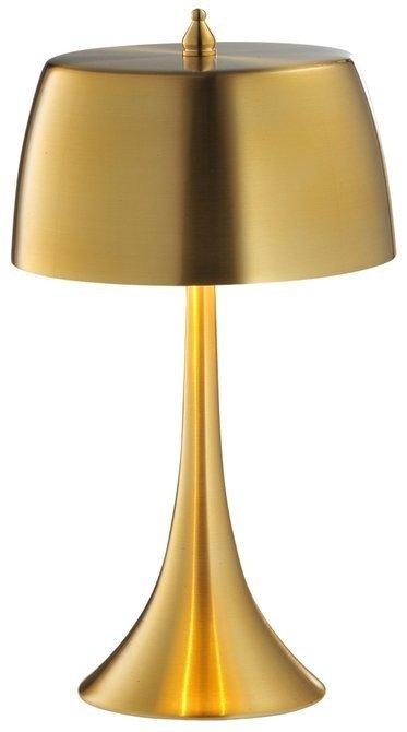 Lampa Stołowa Gabinetowa Candellux Oxford 41-25173 E14 Złoty / Dotykowa/