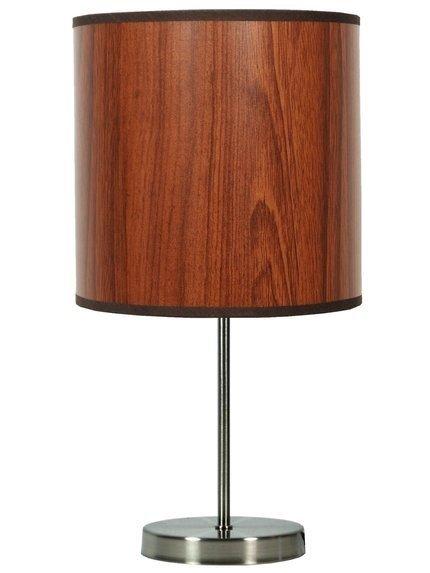 Lampa Stołowa Gabinetowa Candellux Timber 41-56750 E27 Dąb