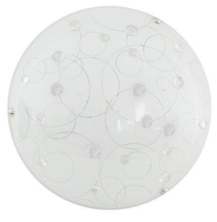 Lampa Sufitowa Candellux Astro 13-49698 Plafon Led 3000K Transparentny