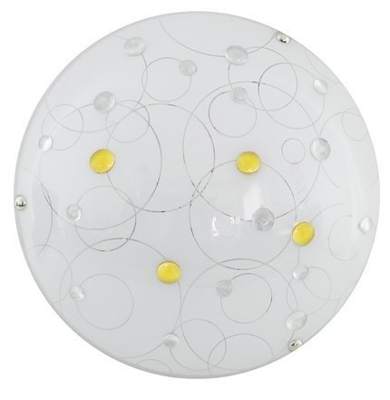 Lampa Sufitowa Candellux Astro 13-49735 Plafon Led 3000K Amber