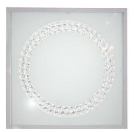 Lampa Sufitowa Candellux Lux 10-60679 Plafon 16W Led 6500K Satyna Duży Ring