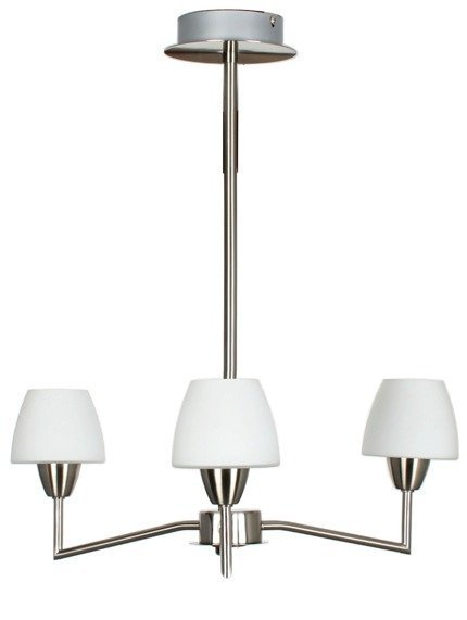 Lampa Sufitowa Wisząca Candellux Togo 33-10639 G9 Nikiel Mat Promocja