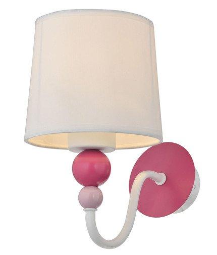 Lampa ścienna kinkiet 1X60W E27 biały BEBE 21-39163