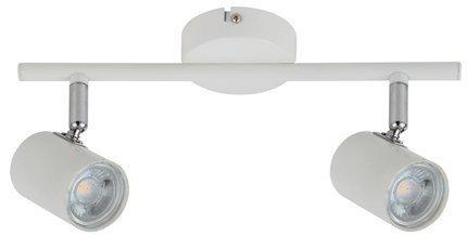 Lampa ścienna listwa 2X4W LED biały HALLEY 92-49537