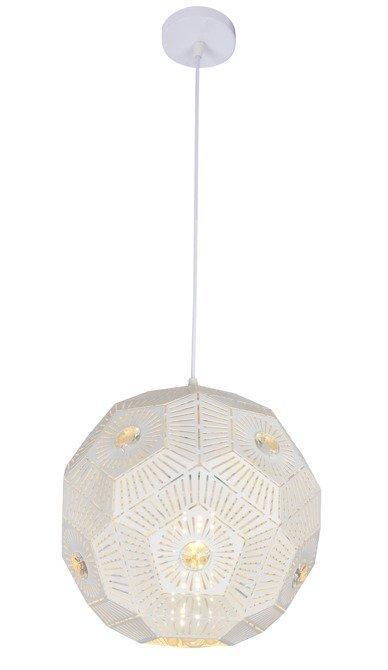 Lampa sufitowa wisząca 1X40W E27 biały EUPHORIA 31-69689