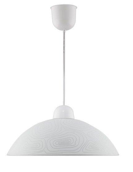 Lampa sufitowa wisząca 1X60W E27 LUKRECJA 31-49851