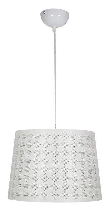 Lampa sufitowa wisząca 1X60W E27 biały ORLANDO 31-49117