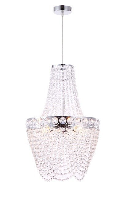 Lampa sufitowa zwis 3X60W E27 chrom PERSEO 31-57495