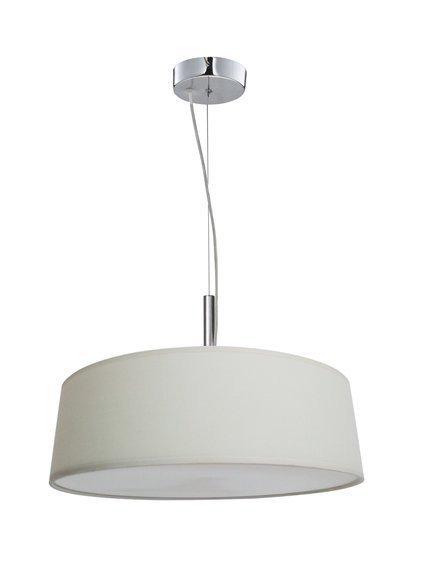 Lampa wisząca okrągła kremowa regulowana wysokość Blum Candellux 31-46680