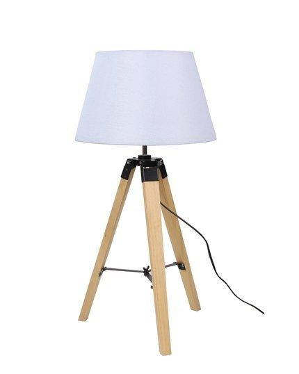 Lampka gabinetowa stołowa beżowa 60W E27 Lugano 41-31136