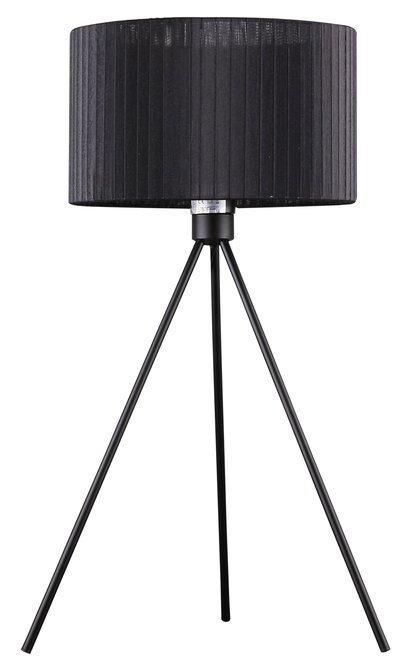 Lampka stołowa gabinetowa czarna 60W E27 Diana 41-74034