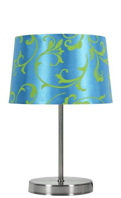 Lampka stołowa niebieska/chrom Arosa 41-55873