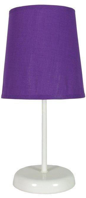 Lampka stołowa nocna fioletowa 40W Gala 41-98392