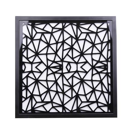 Plafon kwadrat biały zimny LED 29x29 Lux 10-60655