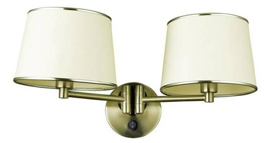 LAMPA ŚCIENNA KINKIET CANDELLUX IBIS 22-01309  E14 PATYNA
