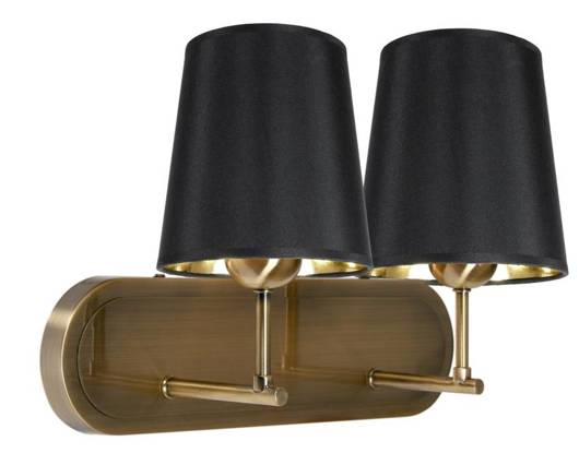 LAMPA ŚCIENNA KINKIET CANDELLUX MILONGA 22-53510  E27 PATYNA