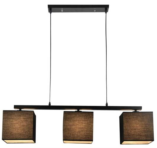 LAMPA SUFITOWA WISZĄCA CANDELLUX BOHO 33-58379  E27 CZARNY
