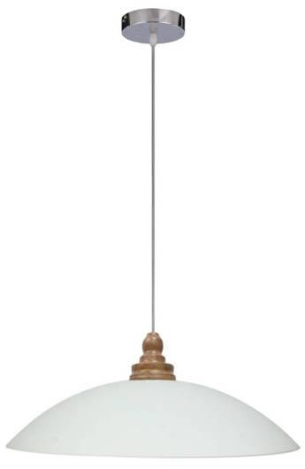 LAMPA SUFITOWA WISZĄCA CANDELLUX DAKO 31-63601   E27 CHROM/DREWNO