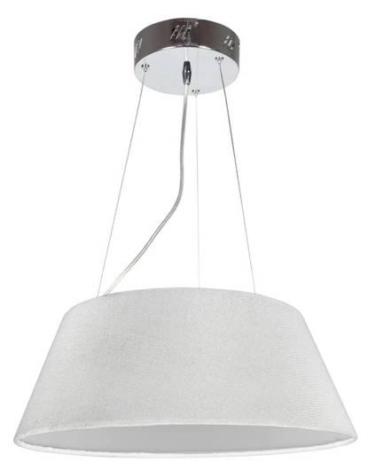 LAMPA SUFITOWA WISZĄCA CANDELLUX GUSTO 31-53183 OKRĄGŁY  19W LED KREMOWY