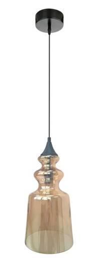 LAMPA SUFITOWA WISZĄCA CANDELLUX OXELO 31-51820  E27 BURSZTYNOWY